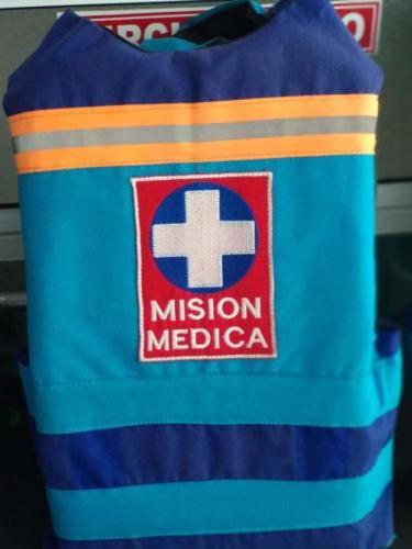 Chalecos misión médica